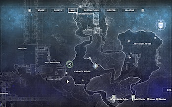 destiny 2 beyond light europa cadmus ridge