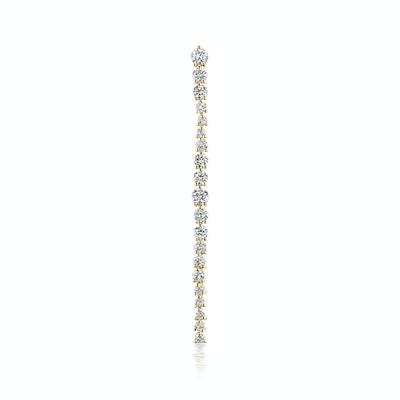 "Amaranthus Diamond 2"" Single Earring"