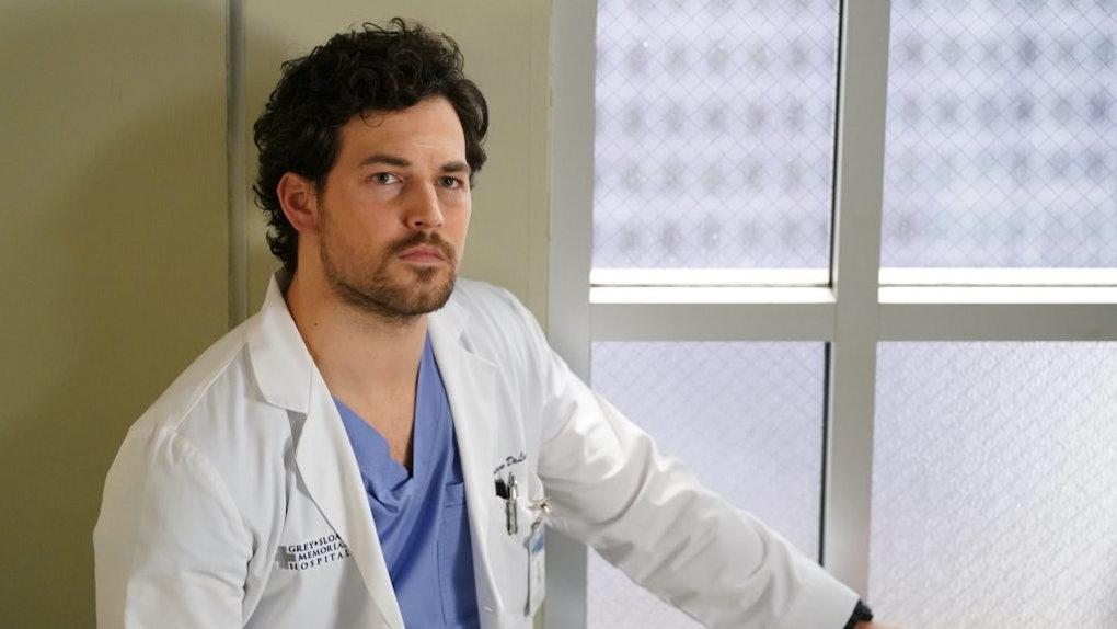 DeLuca (Giacomo Gianniotti) on 'Grey's Anatomy'