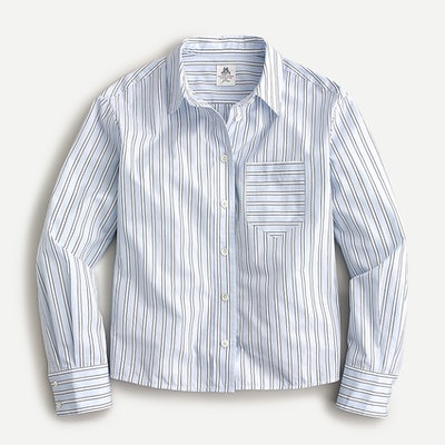 Thomas Mason for J.Crew Relaxed Button-Up Shirt in Stripe