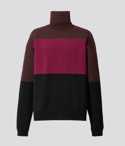 WOMEN +J EXTRA FINE MERINO TURTLENECK SWEATER