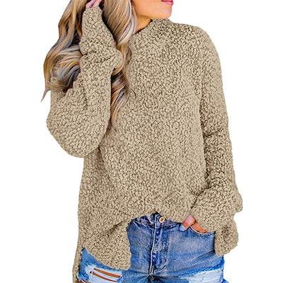 Imily Bela Fuzzy Sherpa Sweater