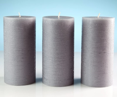 Melt Candle Company Pillar Candles (3-Pack)