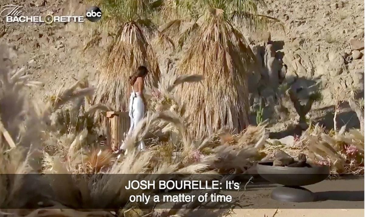 Josh Bourelle in promo for 'The Bachelorette'