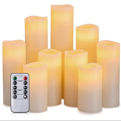 Hausware Flameless Candles (9-Pack)