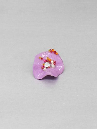 Amorphous Flowers Earrings