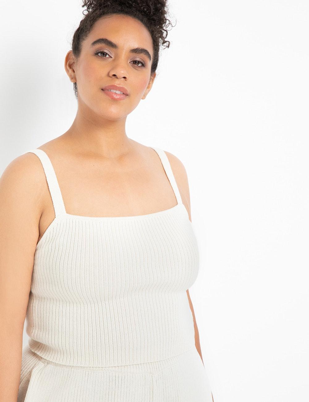 Crop Sweater Cami