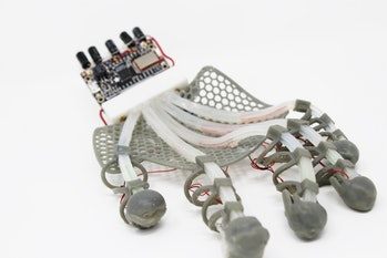 touch sensing glove