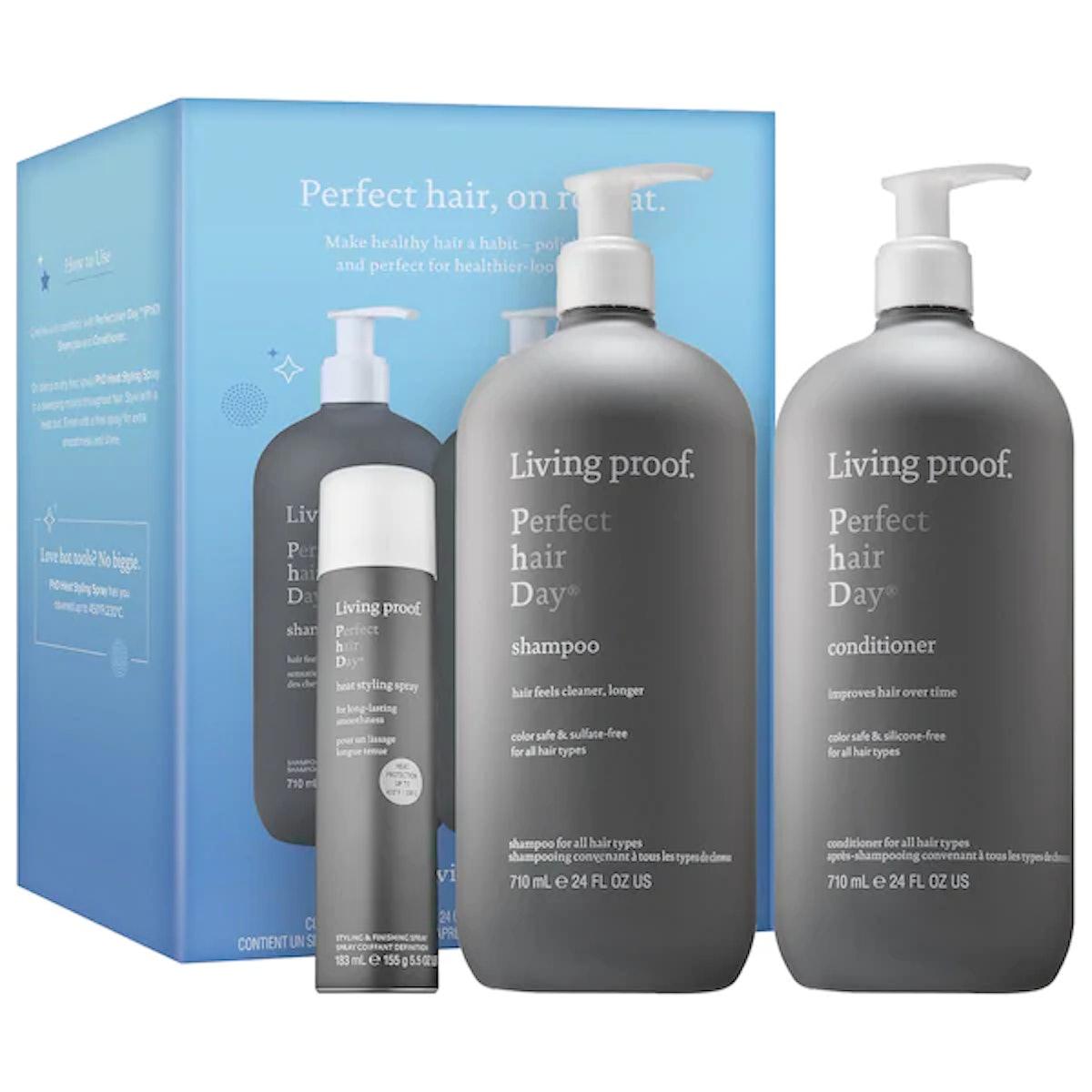 Living Proof Perfect Hair Day Jumbo Trio