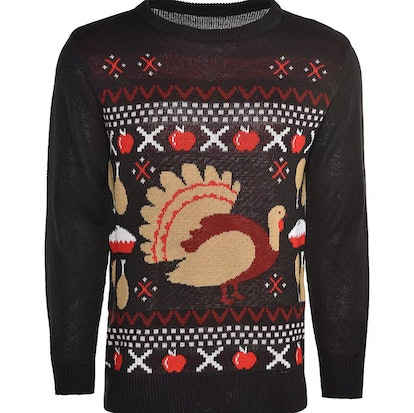 Adult Thanksgiving Feast Ugly Sweater