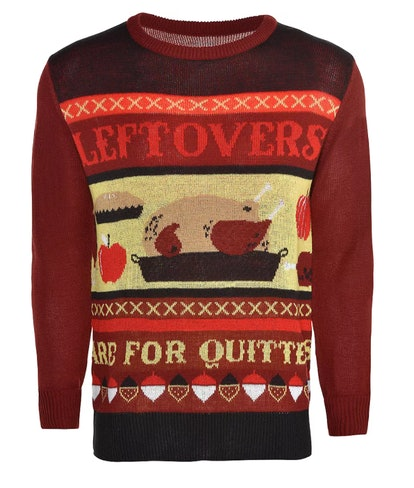 Adult Leftovers are For Quitters Ugly Sweater