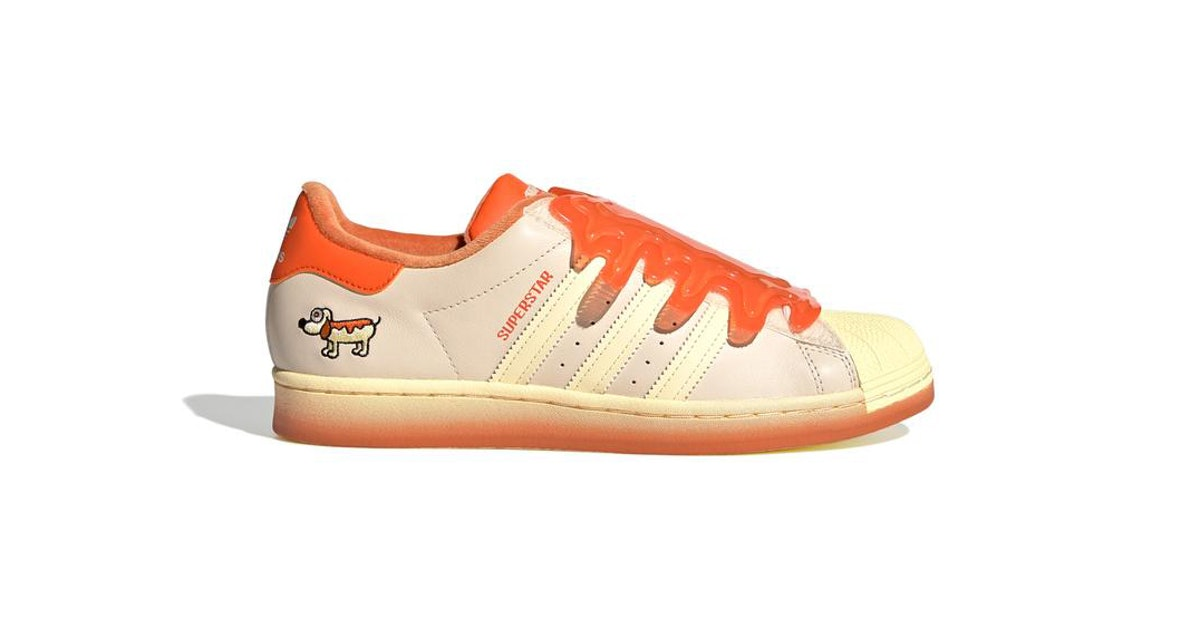 These super freaky, childlike Adidas sneakers are very much for adults