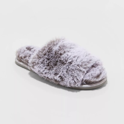 Stars Above Capri Faux Fur Slide Slippers