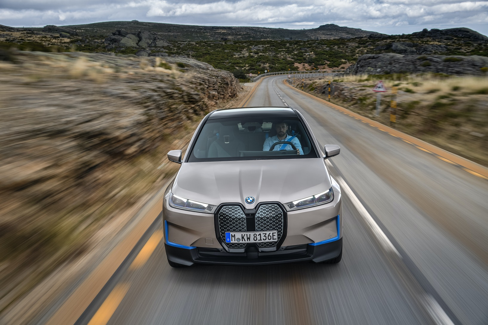 BMW's iX is an all-electric SUV and a template for the company's future electric vehicles.