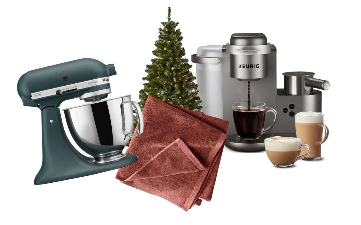 The products included in Target's 2020 Black Friday Home Goods Deals are a KitchenAid stand mixer, a...