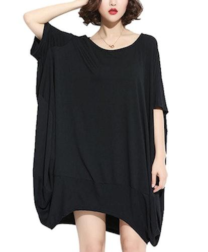 ellazhu Oversized T-Shirt Dress