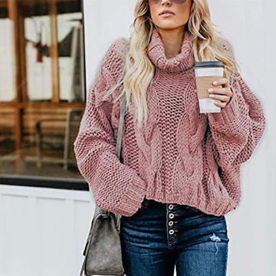 ZKESS Casual Chunky Pullover Sweater