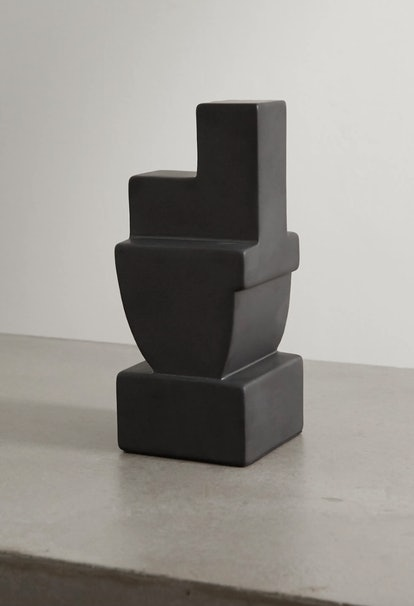 Cubisme Two Earthenware Bookend