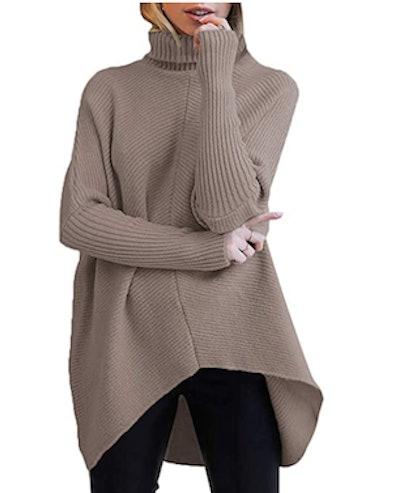 ANRABESS Turtleneck Sweater