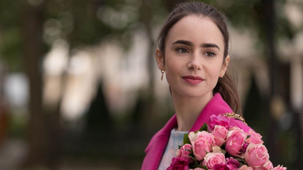 "Lily Collins stars as Emily in ""Emily in Paris."""