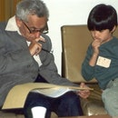 Paul Erdos with Terence Tao.