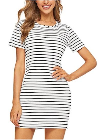 Floerns T-Shirt Dress