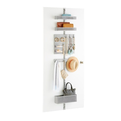 Platinum Utility Mesh Closet Over the Door Rack Solution