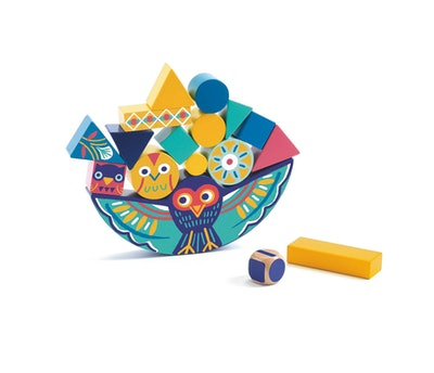 Djeco Stacking Wooden Blocks Game