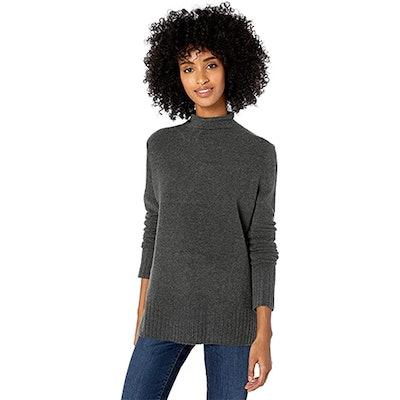 Goodthreads Mid-Gauge Funnel Neck Sweater