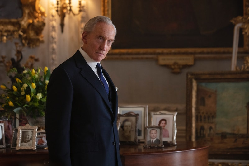 Charles Dances as Lord Mountbatten in 'The Crown' via the Netflix press site.