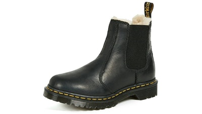 Dr. Martens Leonore Burnished Wyoming Fashion Boot