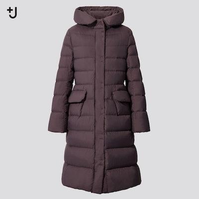 +J Ultra Light Down Hooded Jacket
