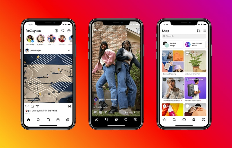 Instagram just updated its homepage and added a new Reels tab.