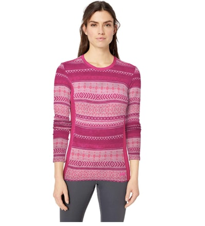 Helly-Hansen Merino Wool Graphic Long-Sleeve Top