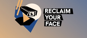 Reclaim Your Face logo
