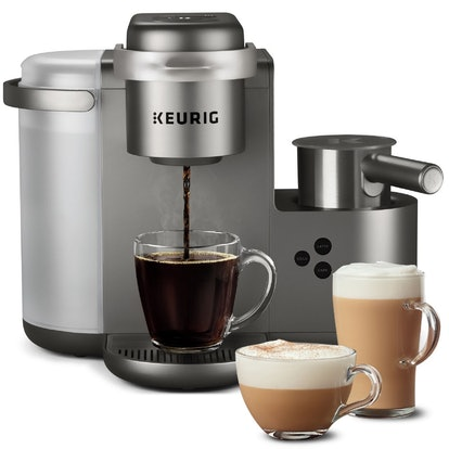 Keurig Special Edition Single-Serve Coffee, Latte and Cappuccino Maker - Nickel