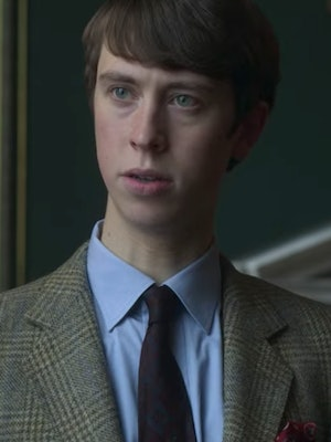 Angus Imrie plays Prince Edward in 'The Crown.'