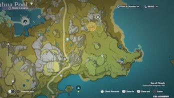 Genshin Impact Bounty Tracking Map Update 1.1