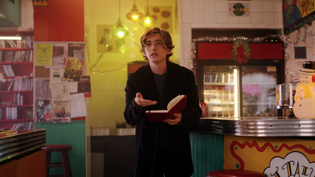 Dash (Austin Abrams) in 'Dash & Lily'