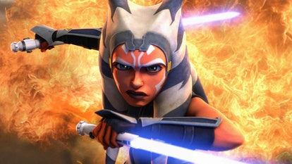 Ahsoka Tano in 'Star Wars: The Clone Wars.'
