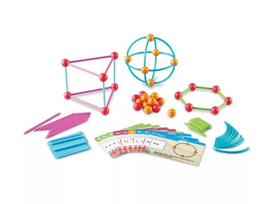 """Learning Resources Dive Into Shapes A """"Sea"""" & Build Geometry Set"""