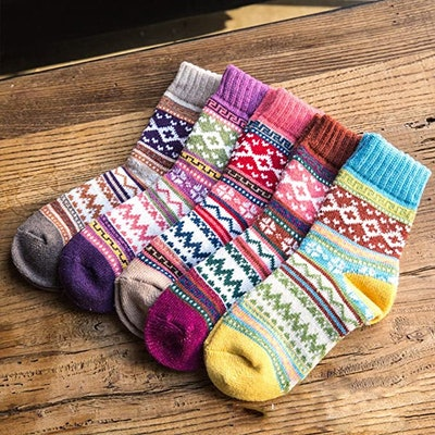 Loritta Vintage Socks (5-Pack)