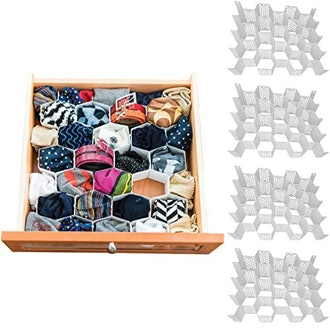 Evelots Drawer Organizer (Set of 4)