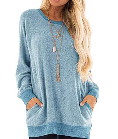 MISFAY Tunic Sweatshirt With Pockets