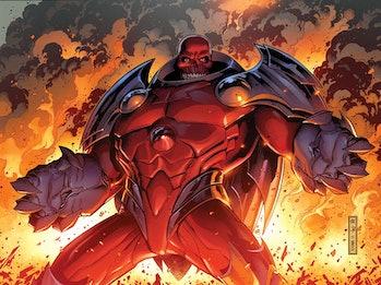 red skull axis comics