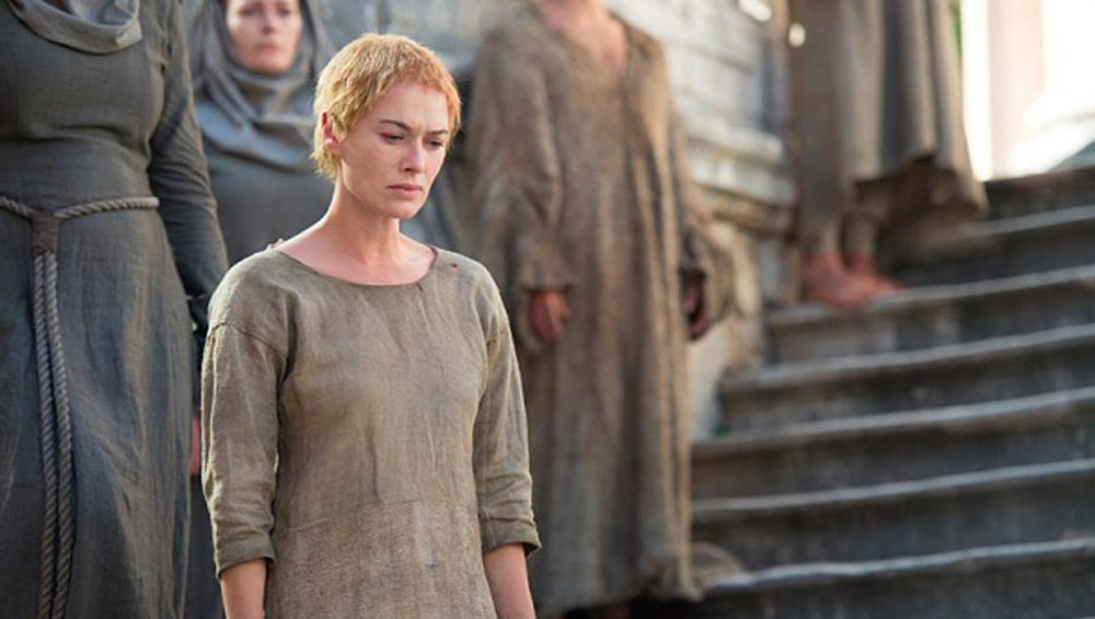 cersei walk of shame game of thrones winds of winter