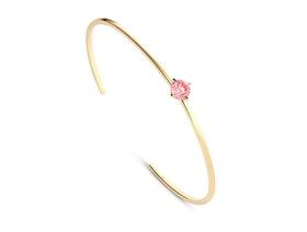 Solitaire Cuff Bracelet