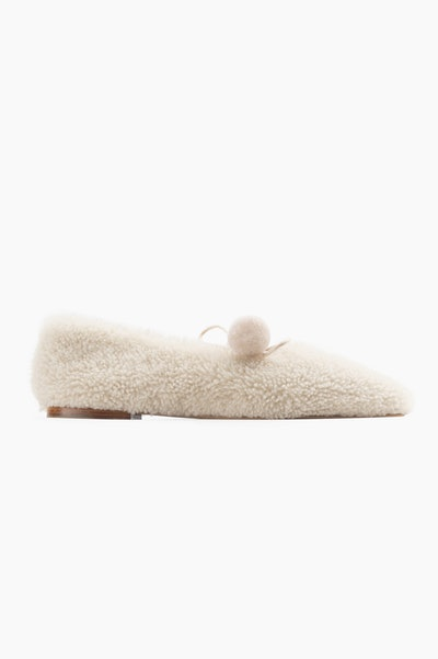 Lulu Shearling Slippers