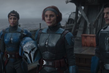 Katee Sackhoff as Bo Katan in 'The Mandalorian.'