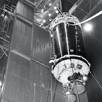 NASA says a 1960s non-reusable rocket booster has returned